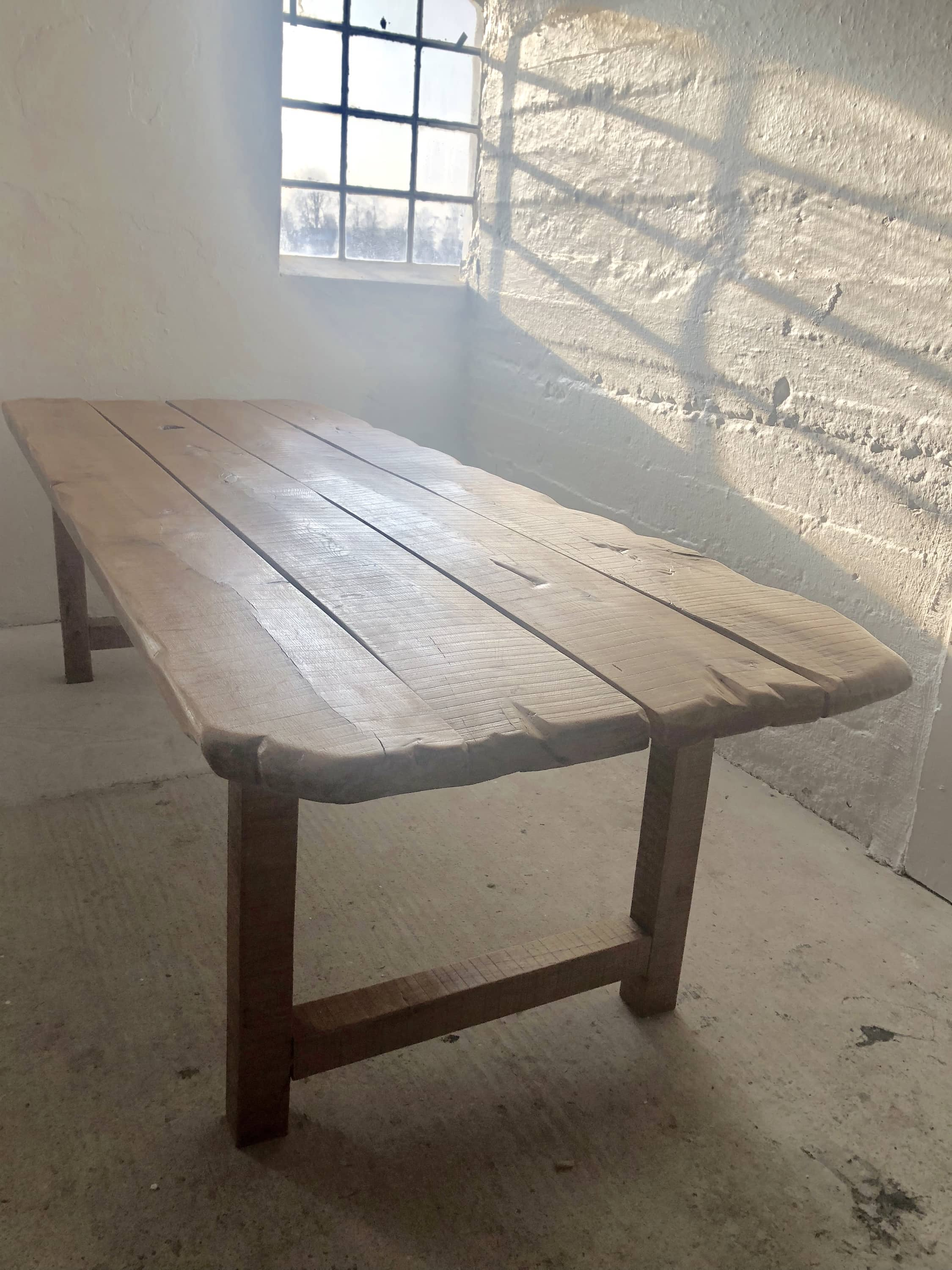 Huge Antique Dining Room Table